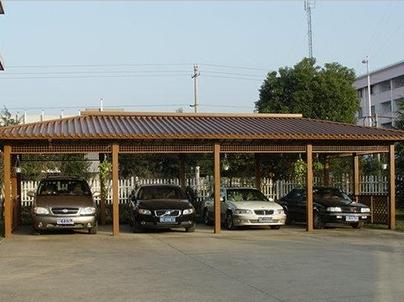 钢结构车棚建筑