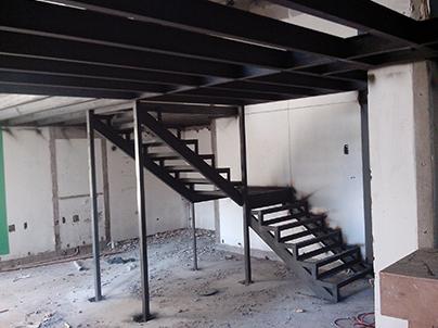 钢结构隔楼安装