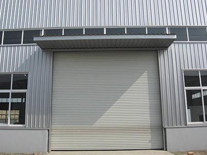 钢结构卷帘门安装