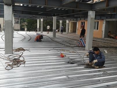 钢结构隔层安装