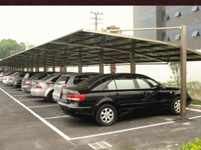 钢结构车棚安装